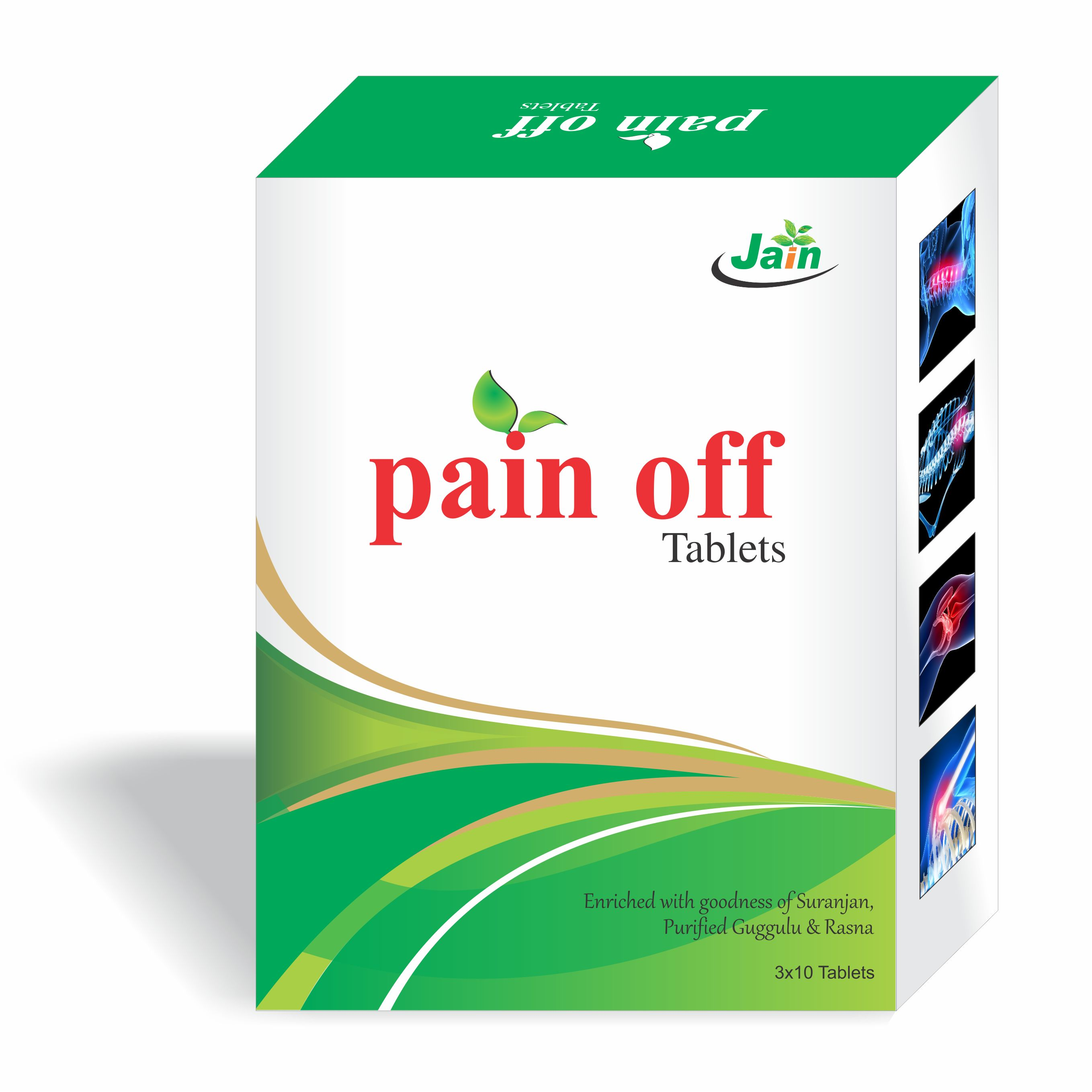 Pain Off Tablets 500 Mg
